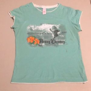 Tops - Vintage Kenny Chesney Tour 2007 T-Shirt